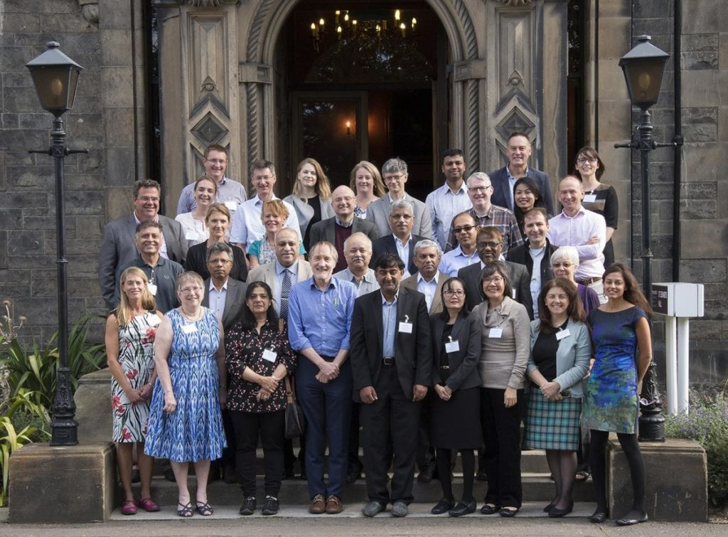 RESPIRE team members at the Edinburgh Meeting, September 2017